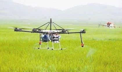 参加第六届中国国际农用航空技术装备展